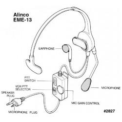 Alinco EMS-13 A Cuffia...