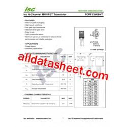 FCPF13N60NT MOSFET