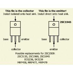 2sc1945 transistor RF NPN