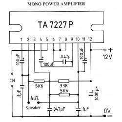 TA-7227 IC BF