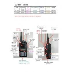 Panel vetro LCD DJ-500 DJ-A446