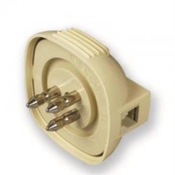 spina 3 poli con plug 6-2