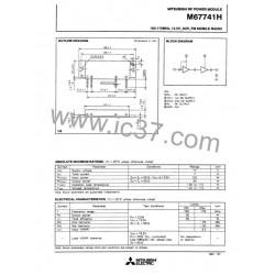Modulo RF Mitsubishi M67741H